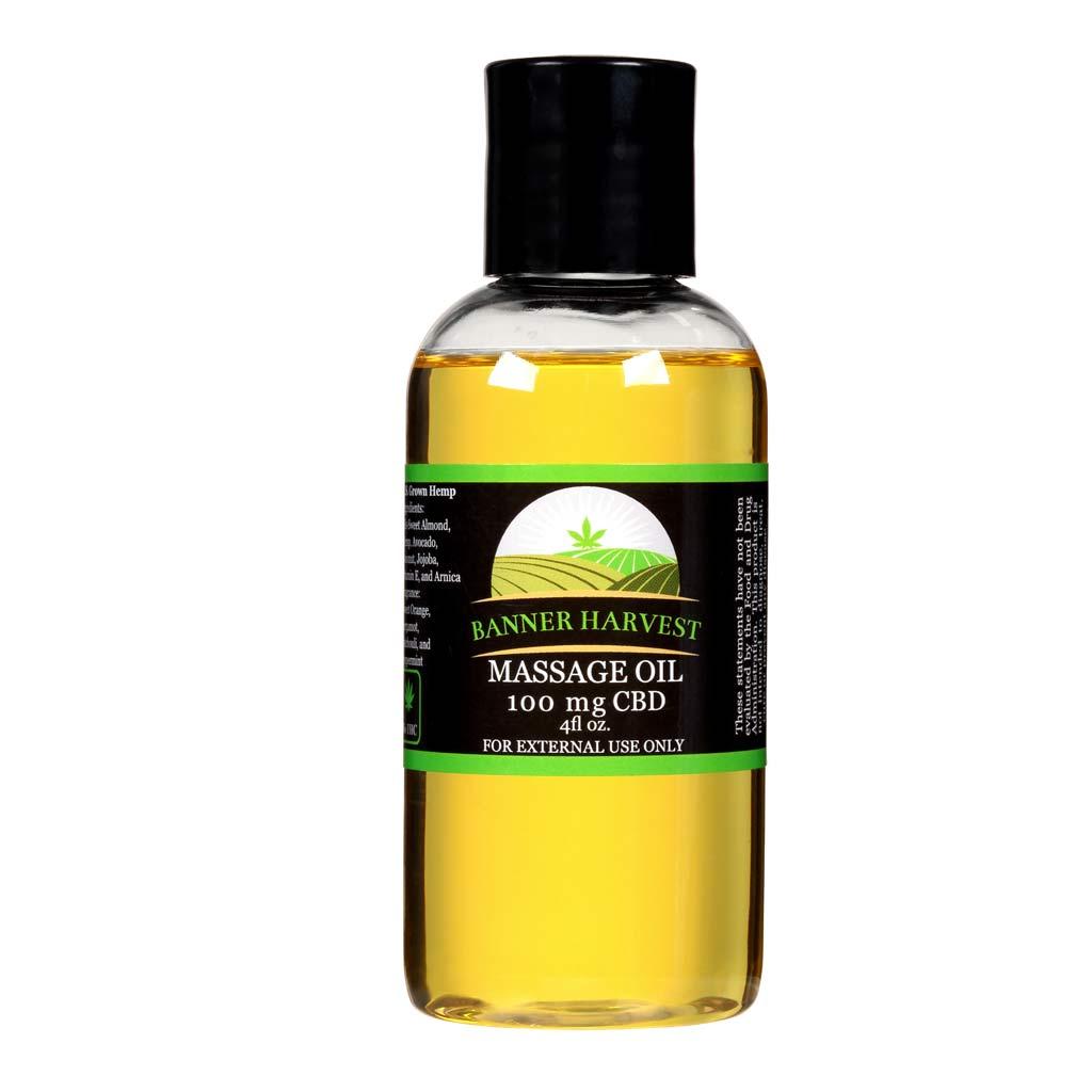 CBD Infused Massage Oil